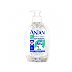 Anian Hydro-alcoholic gel total sanitizing 500ml.