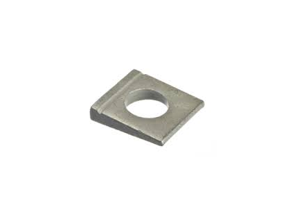Square taper washers for U sections DIN 435