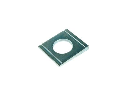Square taper washers for U sections DIN 434