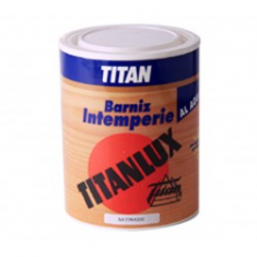 TITANLUX water-based outdoor varnish satin