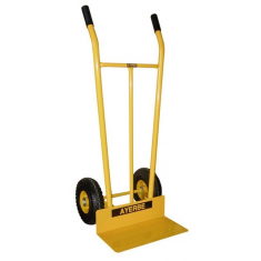 Anti-flat wheels hand truck