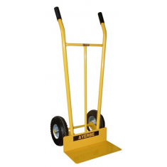 Pneumatic wheels hand truck
