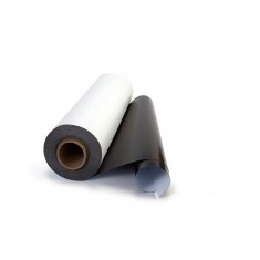 White PVC Magnetic Rubber (roll)