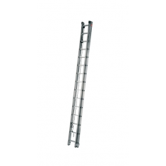 Rope-operated ladder, 2-section