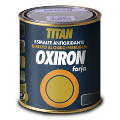 OXIRON WROUGHT rustproof enamel-paint.