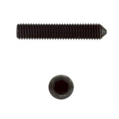 Hexagon socket set screws with cone point DIN 914