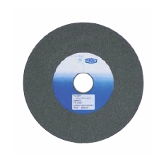 Grinding wheel for cemented carbide