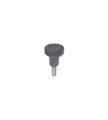 Male thumbscrew knob
