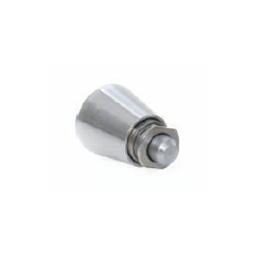 Spring loaded index plunger