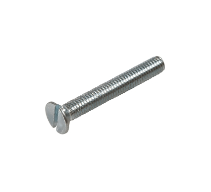 Slotted countersunk head screw DIN 963