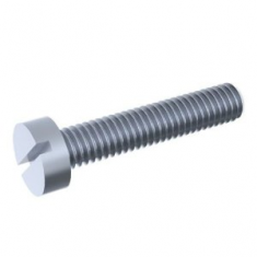 Slotted cheese head screw DIN 84