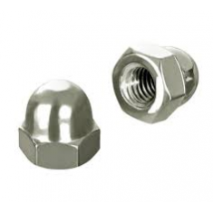 Hexagon domed cap nut DIN 1587
